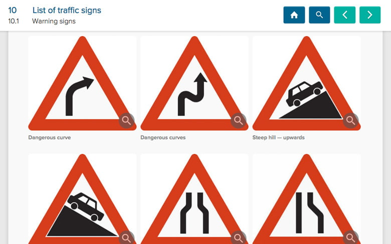Comprehensive overview of traffic signs